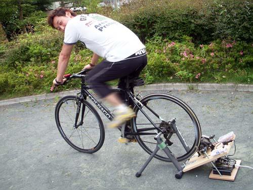 自転車の 発電 自転車 : 自転車発電 作ってみませんか